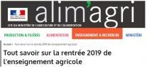 image CapturerRentreeSept2019ALIMAGRI.jpg (54.9kB) Lien vers: https://agriculture.gouv.fr/tout-savoir-sur-la-rentree-2019-de-lenseignement-agricole